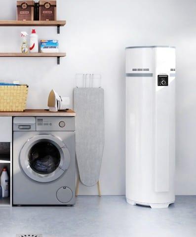 Pompa calore monoblocco per acqua calda sanitaria